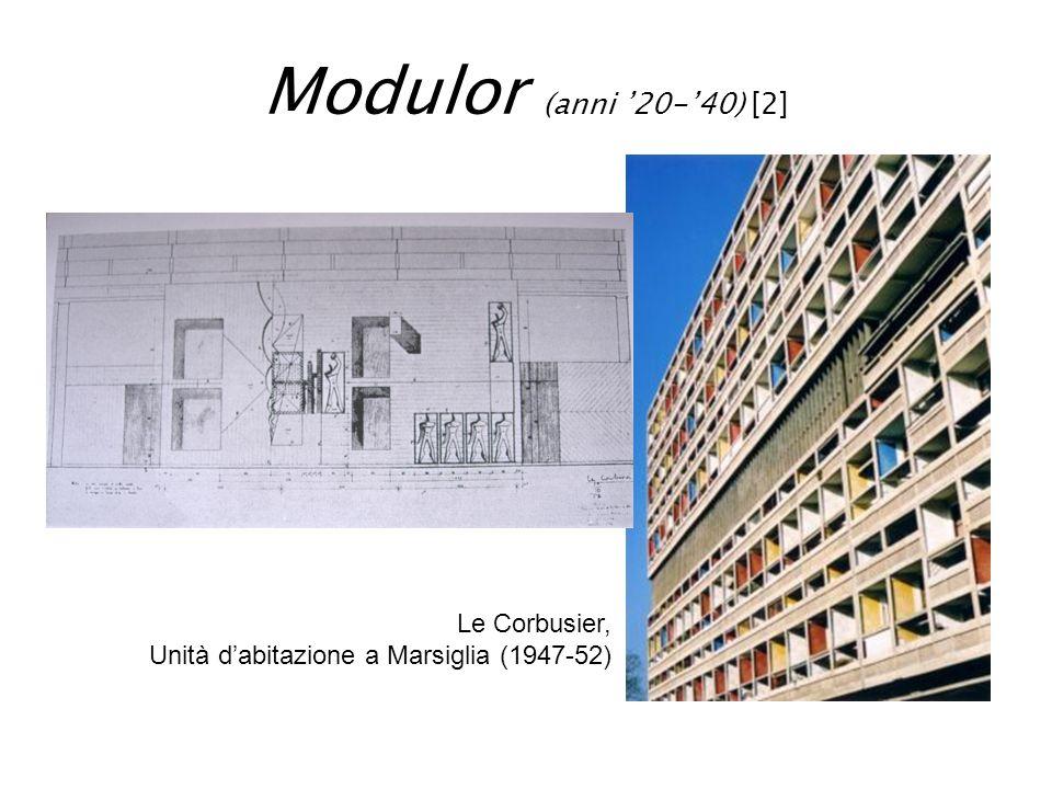 Modulor (anni '20-'40) [2] Le Corbusier,